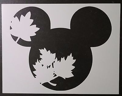 Fall Autumn Leaf Leaves Mickey Mouse 11