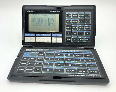 Casio fx-7500G folding graphing calculator, great working condition