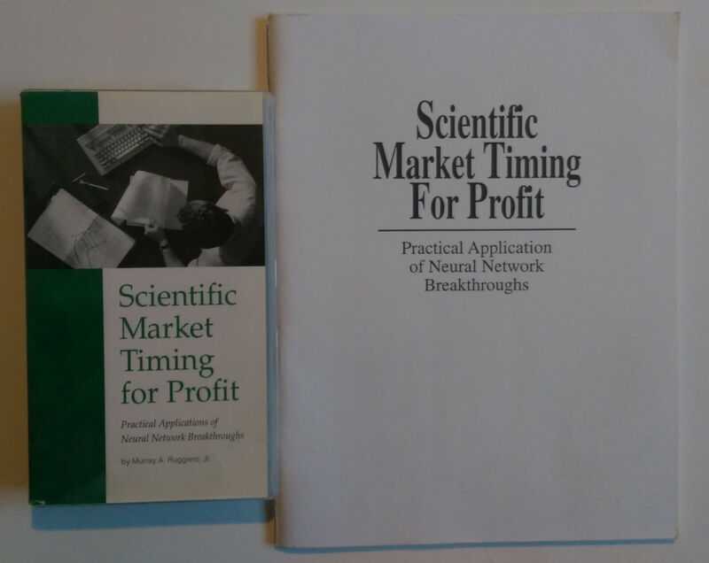 SCIENTIFIC MARKET TIMING FOR PROFIT  Murray A. Ruggiero  VHS & BOOK  Excellent