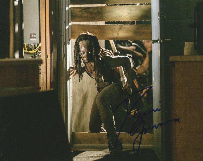 **GFA The Walking Dead - Michonne *DANAI GURIRA* Signed 8x10 Photo MH7 COA**