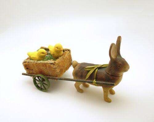 Easter Decoration Rabbit Pulling Cart Bethany Lowe