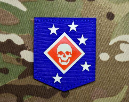 GITD Marine Raiders Patch Red White Blue MARSOC USMC Marine Corps Semper Fi