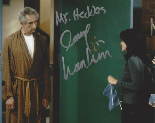 LARRY HANKIN SIGNED 'FRIENDS' MR. HECKLES 8x10 SHOW PHOTO C w/COA ACTOR PROOF