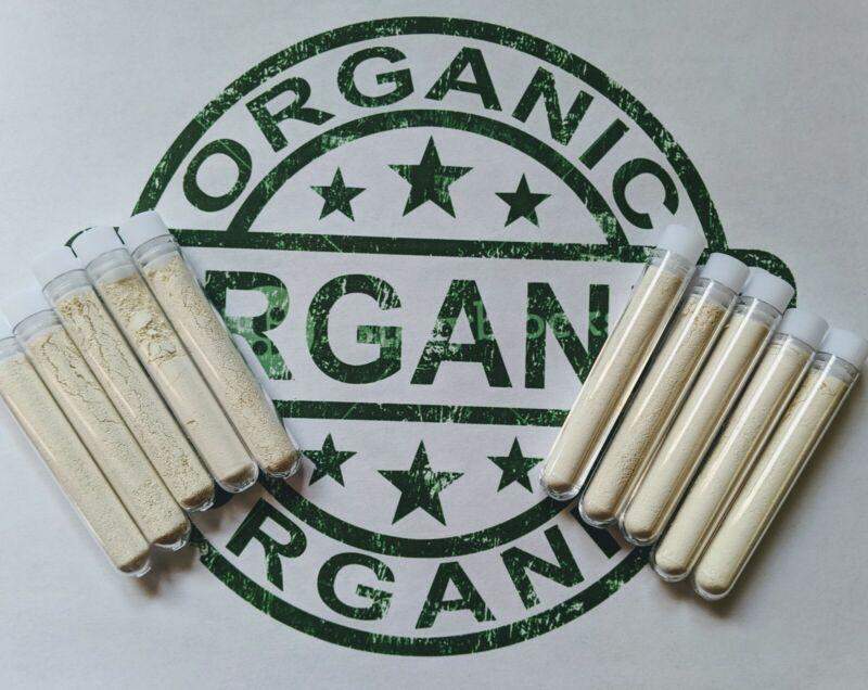 Blood Clot Powder, 100% Organic. 10 pack of 2 gram tubes.