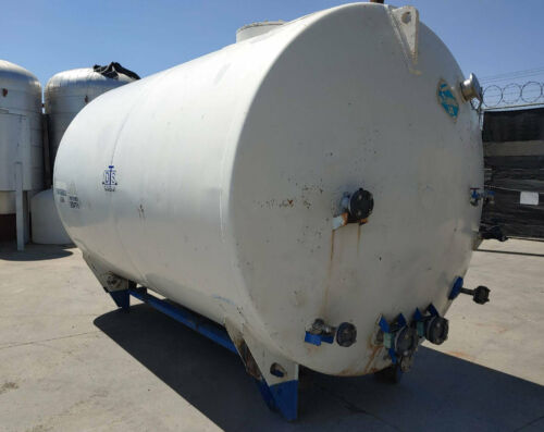 Nitrogen tank LNG tank stainless tank rated to 45 PSI 1920 gallon