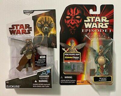 Star Wars Legacy Collection: Zuckuss #54 & Episode 1: Watto