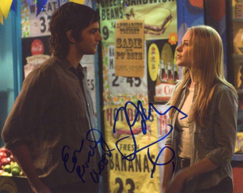 """Evan Rachel Wood & Jim Sturgess """"Across the Universe"""" AUTOGRAPHS Signed Photo"""
