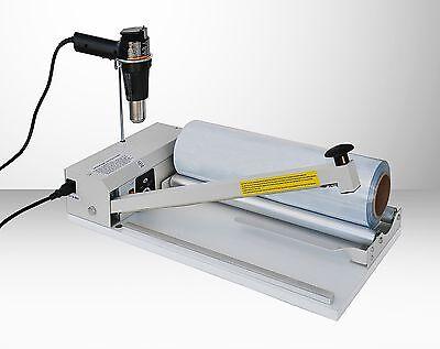 Shrink Wrap System With 24 I Bar Sealerheat Gunroller Shrink Film Aie-2024i