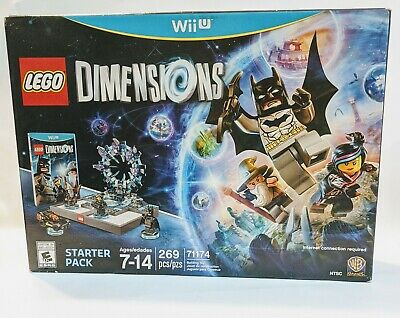 NEW NIB LEGO Dimensions Wii U 71174 Starter Pack WB Games NISB