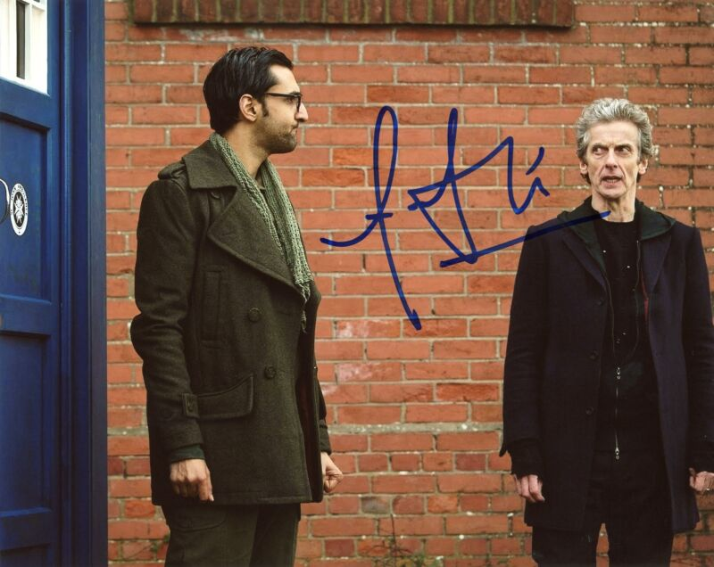 "Arsher Ali ""Doctor Who"" AUTOGRAPH Signed 8x10 Photo ACOA"