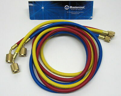 45360 60 Charging Hose Low Loss Set Air Conditioning Refrigeration Manifold New
