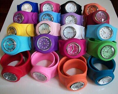 Girls Cool Fashion Watch - Boys/Girls/Women's Cool Colors Fashion Silicone Rubber Slap Wrist Casual Watches