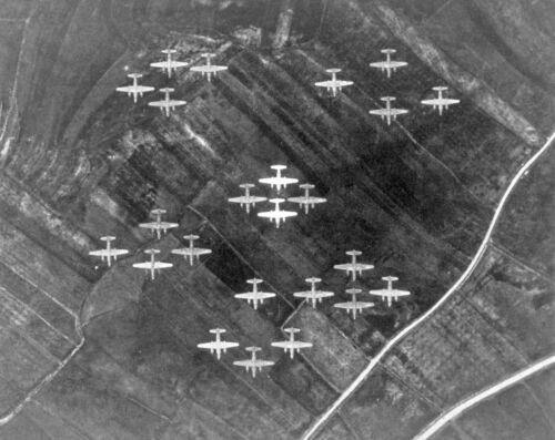 "USAAF Martin B-26 Marauder ((8.5""x11"")) Print"