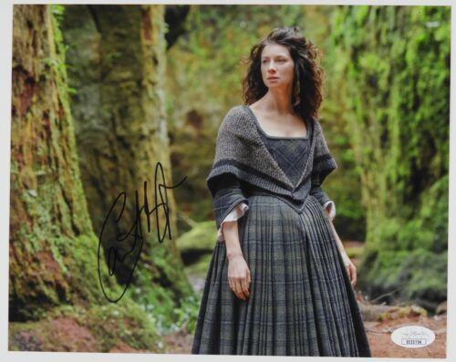 Caitriona Balfe Outlander Autograph Signed 8 x 10 JSA COA
