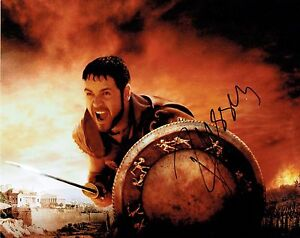 Russell Crowe Hand Signed Autographed 10 x 8 Colour Glossy Gladiator Picture