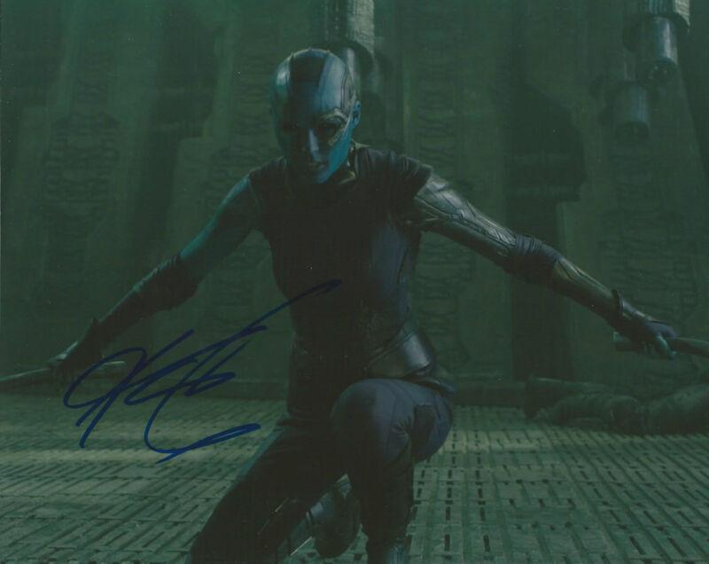 GFA Guardians of the Galaxy * KAREN GILLAN * Signed 8x10 Photo MH2 PROOF COA