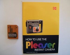 1978 Kodak Pleaser Instant Camera NEW PRICE Cornwall Ontario image 3