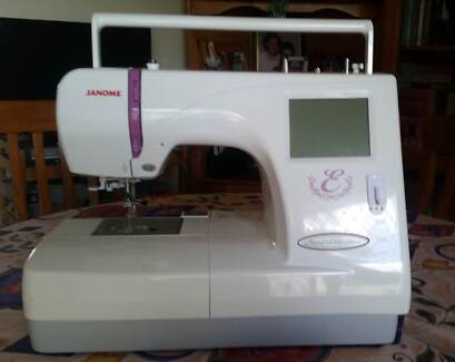 Janome Embroidery Machine In Gympie 4570 Qld Sewing Machines