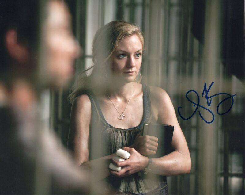 Emily Kinney The Walking Dead Beth Greene Signed 8x10 Photo w/COA #2