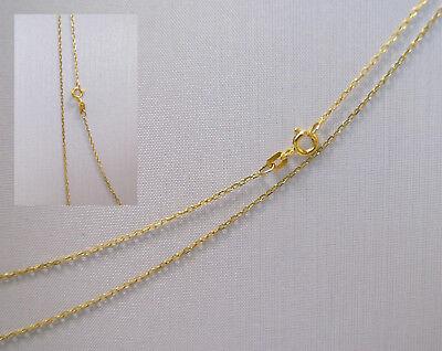 Neuware 585 echt Goldkette Top Anker Design Baby Kinder 14 Karat Gold Kette 38cm