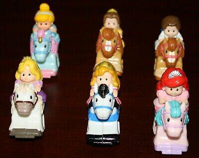 Lot 6 Fisher Price Little People Disney Princess  Klip Klop Horse Clip Clop #1