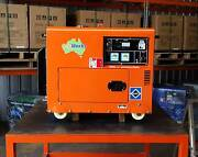 PORTABLE DIESEL GENERATOR 6kVA 240V in canopy Raceview Ipswich City Preview