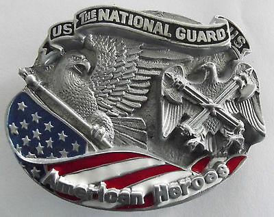 US The National Guard belt buckle