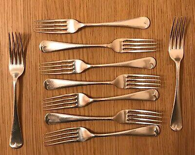 Vintage forks x 9 - Ell Ware EPNS A1