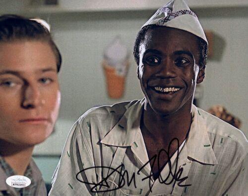DONALD FULLILOVE Signed GOLDIE 8x10 Photo BACK TO THE FUTURE Autograph JSA COA