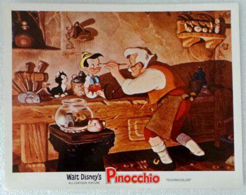 "1971-R LOBBY CARD 14"" x 11"" - ""PINOCCHIO"" - WALT DISNEY ALL CARTOON FEATURE"