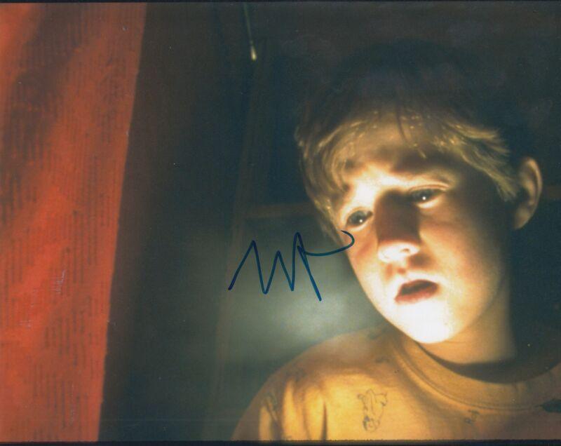 HALEY JOEL OSMENT signed (THE SIXTH SENSE) Movie 8X10 *Cole Sear* photo W/COA #3