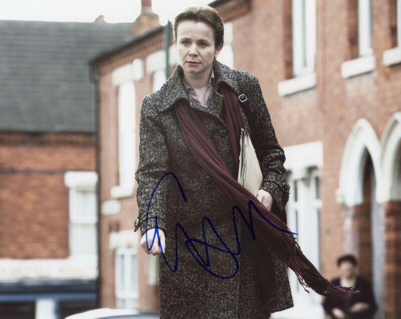 """Emily Watson """"Oranges and Sunshine"""" AUTOGRAPH Signed 8x10 Photo ACOA"""
