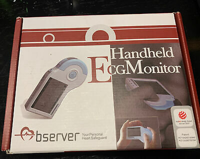Used Observer Handheld Ecg Monitor With All Cables Electrodes And Software.
