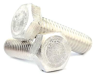 14-20 Hex Cap Screws - Aluminum Cap Screws - Hex Bolts - Select Size