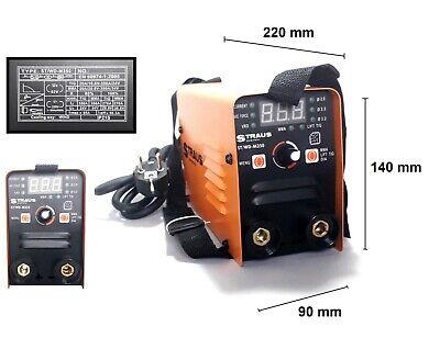 Mini Máquina de Soldadura A Electrodo Eléctrica Inversor 1.6 / 3.2mm 350A...
