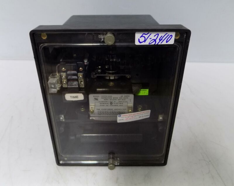 GENERAL ELECTRIC INVERSE TIME OVERCURRENT RELAY 12IFC51A2A