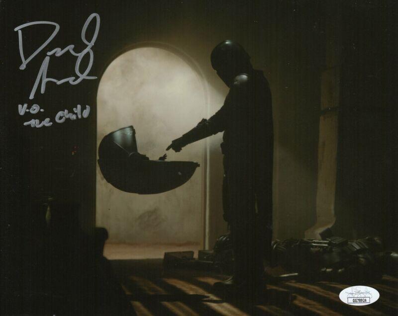 David Acord Autograph 8x10 Photo The Mandalorian The Child Signed JSA COA 3
