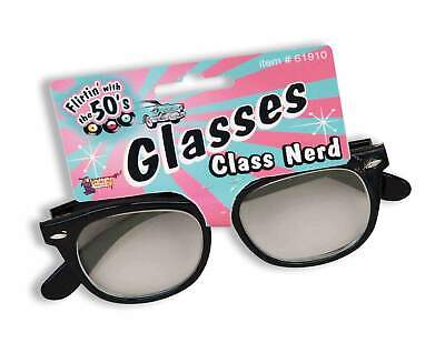 Chic Nerd Geek Glasses Halloween Costume Accessory
