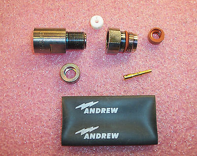 Qty 1 44spn Andrew Heliax N-female Connector Nos