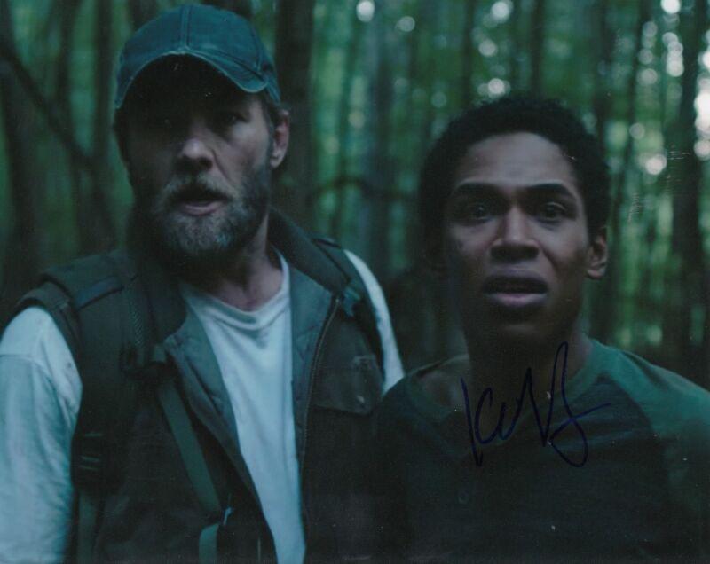 KELVIN HARRISON JR signed (IT COME A NIGHT) *TRAVIS* Movie 8X10 photo W/COA #3