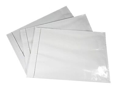 200 - 7 X 10 Packing List Envelope Clear Face Invoice Slip Enclosed Pouch