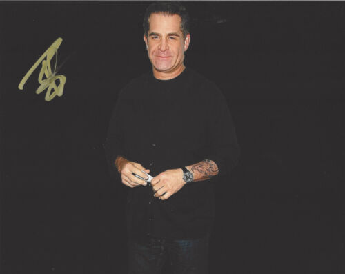 COMEDIAN TODD GLASS SIGNED AUTHENTIC STAND UP COMEDY 8X10 PHOTO D w/COA ACTOR