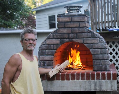 Torn between a Home Pizza Oven & Outdoor Fireplace Kit?  Get the Best of Both!