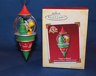 Hallmark Ornament 2005 Peek-a-Boo - Looney Tunes Sylvester & Tweety - #QXI8755