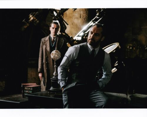 Jude Law Signed 10X8 Photo Fantastic Beasts AFTAL COA (5134)