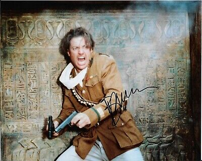 BRENDAN FRASER - Color 8 X 10 - THE MUMMY - In Person - $24.99