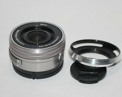 SONY E PZ 16-50mm F3.5-5.6 OSS Lens (Sliver) SELP1650
