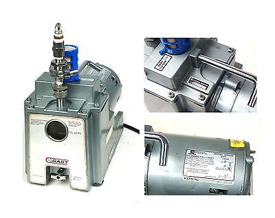 Gast 4ba-1-g482x Vacuum Pump 1.8 Cfm 12 Npt W Emerson 13 Hp Motor