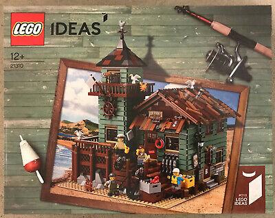 Fischer LEGO® 21310 Ideas Alter Angelladen Old Fishing Store NEU /& OVP SEALED