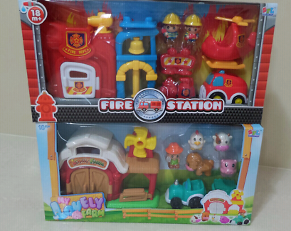 BNIB Fire Station or Farm Playset Aubin Grove Cockburn Area Preview